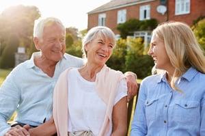 Parents at Senior Living Community