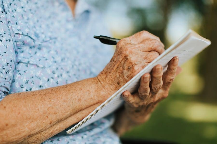 journaling to improve memory