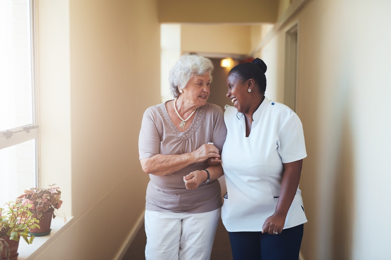 senior living community tour