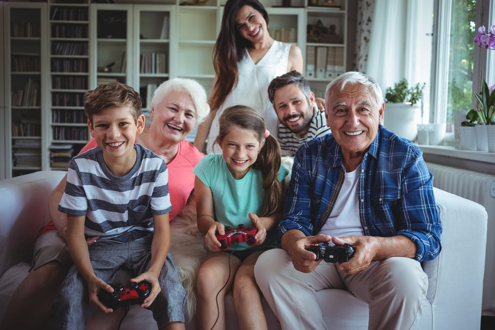 Playing video games can help seniors in Sarasota, Florida