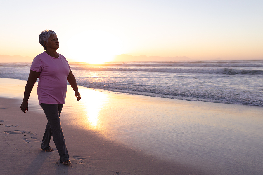 walking daily for seniors