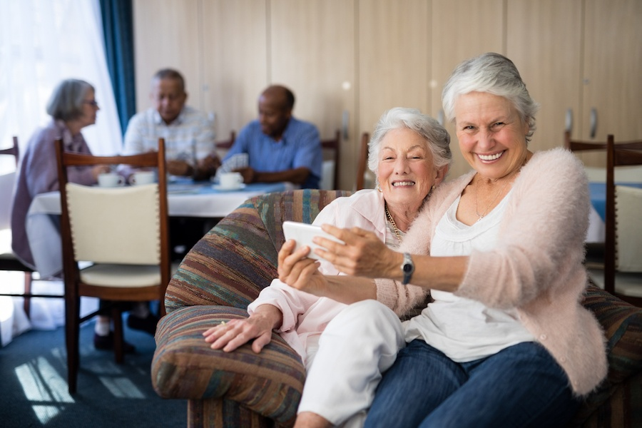full-service retirement community