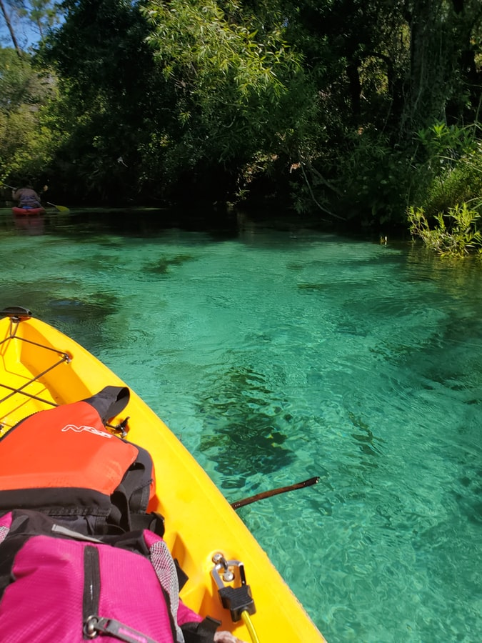 kayaking on florida waters